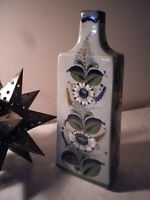 Large Mexican Ceramic Hand Painted Vase