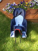 Polisport bike baby seat Wallaroo blue