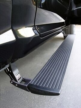 Amp Research Running Board Power Steps 09-18 Dodge Ram 1500 Pickup (2011 Dodge Ram 1500 Slt Quad Cab)