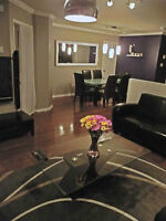 Brossard condo tout meublé - fully furnished (indoor parkings)