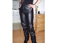 Segura leather ladies motorcycle jeans/trousers