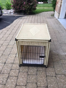 Wicker Pet Cage