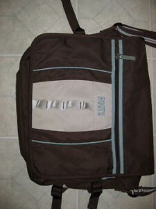 ROOTS CARRY BAG/  CARRY LAPTOP AND OTHER SUPPLIES