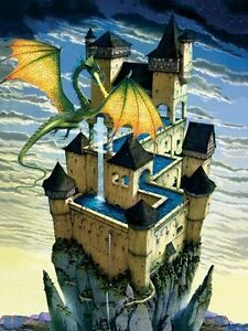 LE CHATEAU DU DRAGON  RAVENSBURGER PUZZLE 500 Pcs.