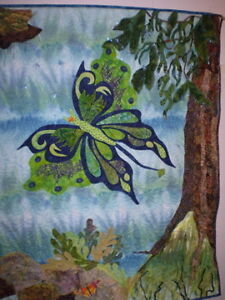 Avatar Fibre Art Piece- Wall Hanging