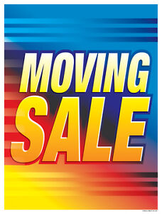 MOVING SALE FRIDAY OCT 21,16, 3:00 PM. -6:00PM
