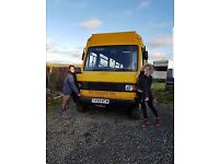 Looking for land to rent - to park our converted bus