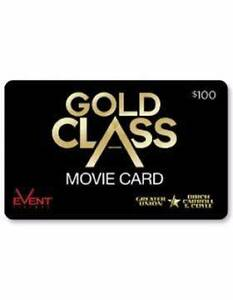 Event Cinema Gold Class Voucher $100 value Adelaide CBD Adelaide City Preview
