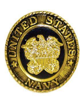2 Piece Navy Ring - No-Shine (NS-T403) U.S. Navy Ring Lapel Pin 2 Piece