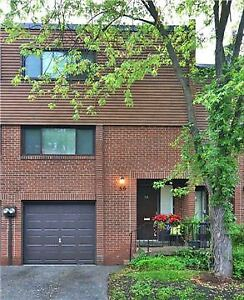 Don Mills & Steeles 3 bed 2bath condow townhouse for lease