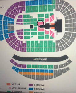 JUSTIN BIEBER TICKET 15th of march section C4 Nelson Bay Port Stephens Area Preview