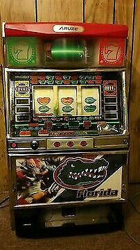 Florida Gators Slot Machine with tokens