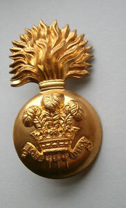 British Army Royal Welsh Fusiliers Glengarry Cap Badge.