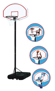 Various Brand-New Basketball Hoops Clearance
