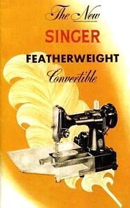 SINGER Featherweight Model 222K Electric Sewing Machine