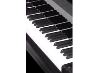 Music teacher piano classes theory tuition keyboard lessons/with or WITHOUT score