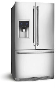 CLEARANCE - New Frigidaire French Door Bottom Mount Fridges