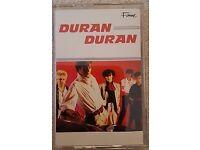 DURAN DURAN - DURAN DURAN FIRST ALBUM ON CASSETTE