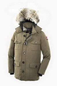 canada goose Banff Parka men Tan