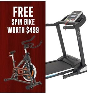 Orbit StarTrack Treadmill Available With Free Spin Bike Cannington Canning Area Preview