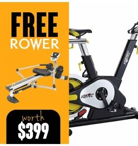 Spin Spin Bike - Vortec Commercial Grade Kallaroo Joondalup Area Preview