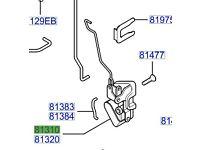 Hyundai ATOS P/S/F Door Latch 8131002010