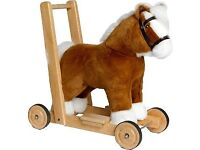 Push Along / Sit and Ride Horse Baby Walker
