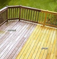 Deck restoration and construction done right