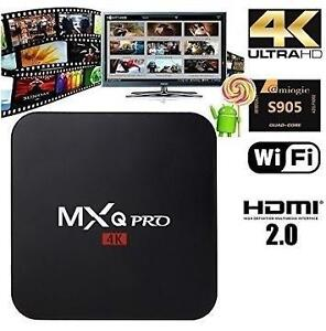 WATCH THE PROGRAMS YOU ENJOY - HD QUAD CORE ANDROID TV BOX - 100's OF CHANNELS -  WHY PAY FOR NETFLIX/APPLE TV?