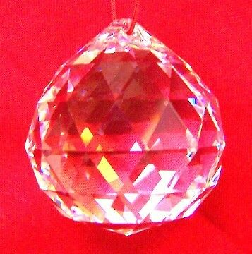 50mm Feng Shui Clear Hanging Crystal Ball