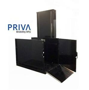 NEW Vertical Platform Lift - Tax free (New or Used) Priva Mobility - Save big and learn how to install yourself !