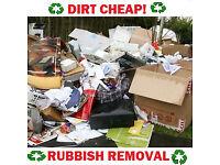❗️CHEAP RUBBISH REMOVAL❗️ HOUSE/GARAGE/GARDEN/SHOP WASTE CLEARANCE cheaper then a skip man van