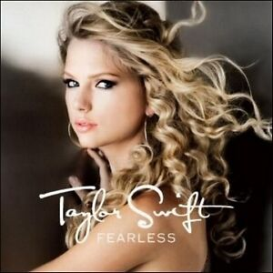 TAYLOR-SWIFT-Fearless-CD-BRAND-NEW