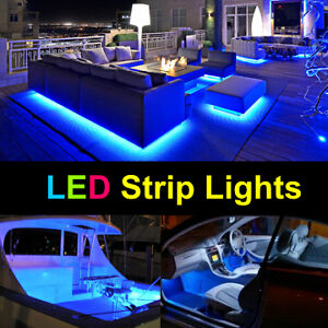 LED Strip Light: Indoor LED 3528 Strip Tape Lighting Kit