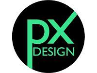 PX Design graphic design company