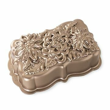 Nordic Ware Wildflower Loaf Pan #93148 - Free Shipping