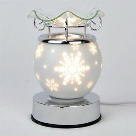 Snowflake Christmas Electric Wax Tart Warmer