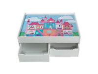 BRAND NEW GIRLS PLAYTABLE WITH STORAGE