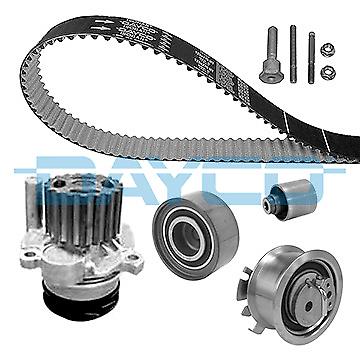Water Pump + Timing Belt Kit - Dayco ktbwp4860