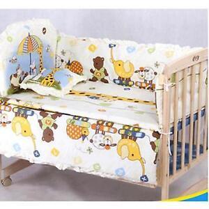 Cotton Baby Children Bedding Set Comfortable Crib Bumper