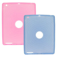 Hard and Silicone Case for Apple iPad 1/2/3/4