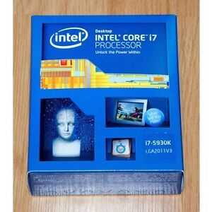 Intel 5930k Processor with MSI X99S Gaming 9 ACK Motherboard