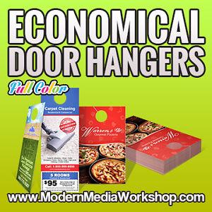 ☻Cheap Custom Door Hanger Printing Winnipeg + FREE DELIVERY
