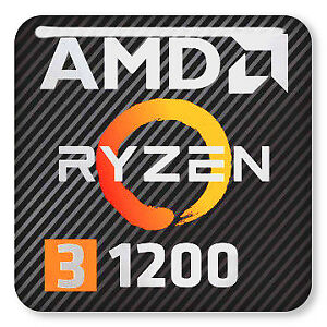 AMD Ryzen 3 1200 + Wraith Stealth Cooler + Original Packaging