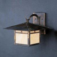5 DIFFERENT OUTDOOR WALL LIGHTS