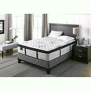 NEW LUXURY king mattress Clearout Sealy Simmons Kingsdown