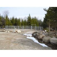 System fencing Galvanized 60' Round Pen Located in Coldwater