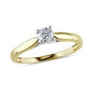 Engagement and Wedding Ring set.