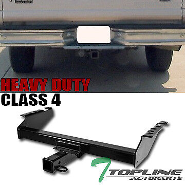 "Topline For 1973+ F150/1994+ Dodge Ram Class 4 Trailer Hitch Receiver 2"" - Black"