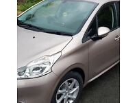 2014 Peugeot 208 1.4 HDI Diesel - 12 Months Mot - 65+ MPG's - Exclusive Colour Pink
